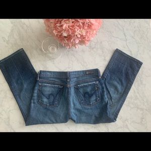 Citizens of Humanity Cropped Jean - Size 27